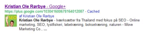 """rel=""""author"""" – Sådan tilknytter du din side på Google+"""
