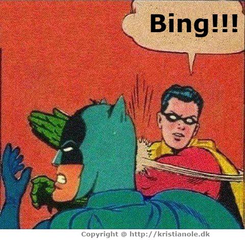 da webmastere forlod Google og smuttede over til Bing