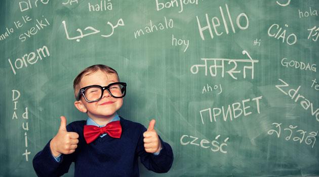 lære et nyt sprog
