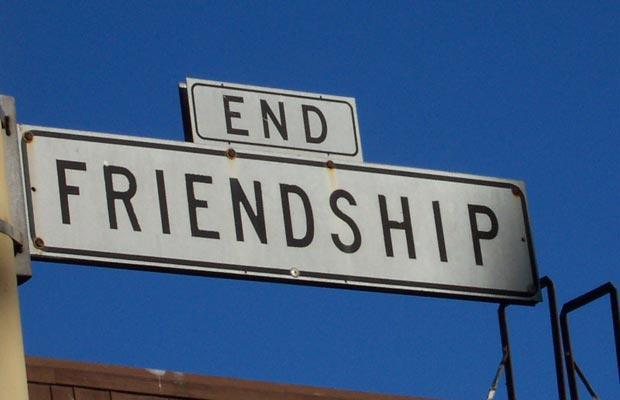 venskab slut