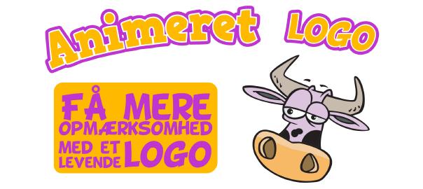 Sådan kan du bruge et animeret logo