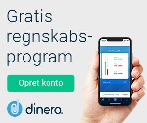 Gratis regnskabsprogram Dinero