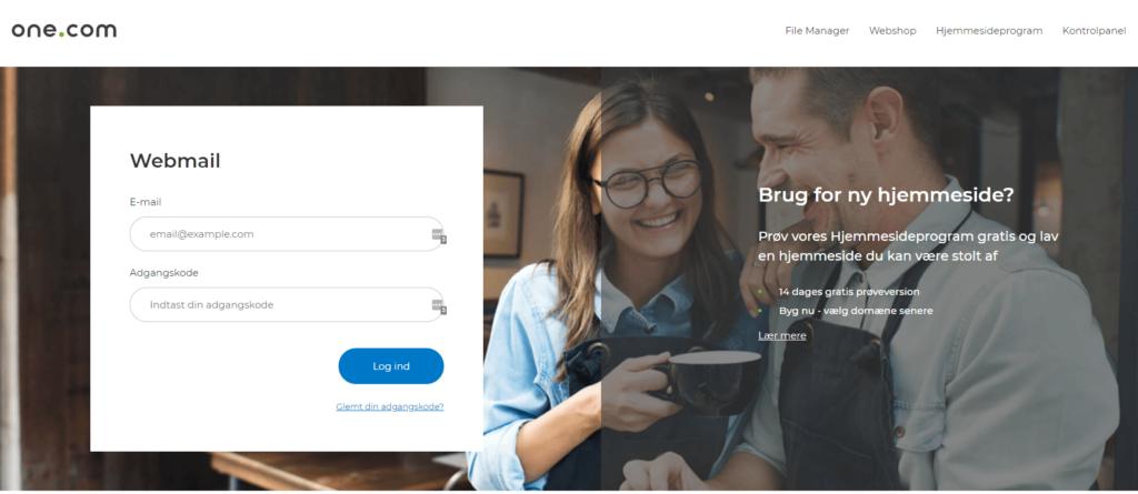 One.com webmail
