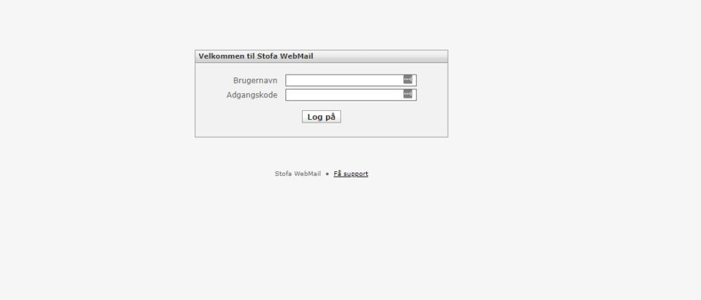 Stofa webmail