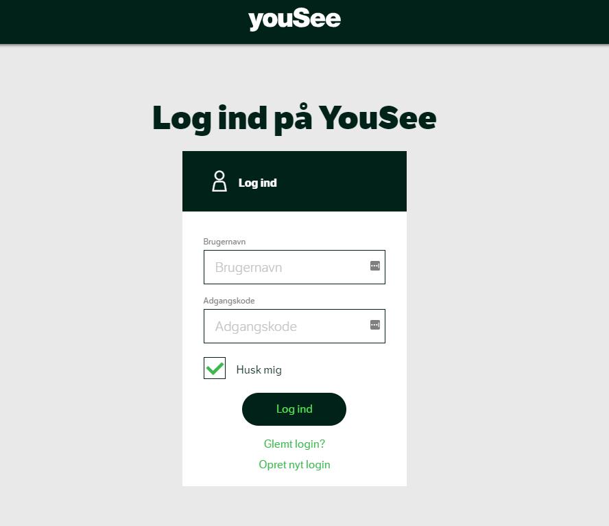YouSee webmail