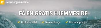 nemmehjemmesider dansk gratis