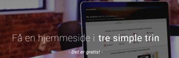 simplesite dk gratis hjemmesideprogram