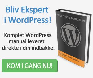 wordpress-hjemmeside-manualen