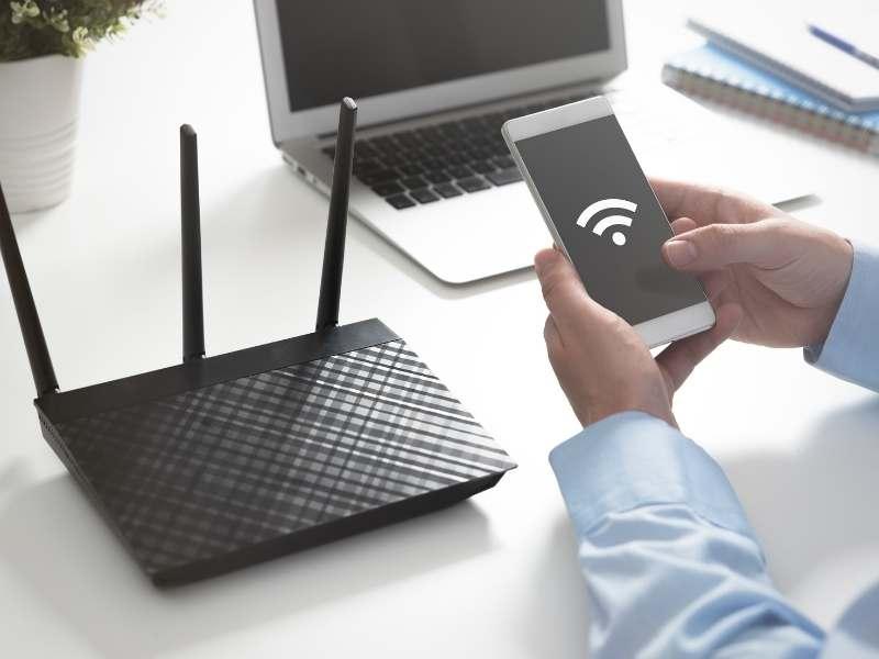 Placér routeren på det rigtige sted - hastighedstest